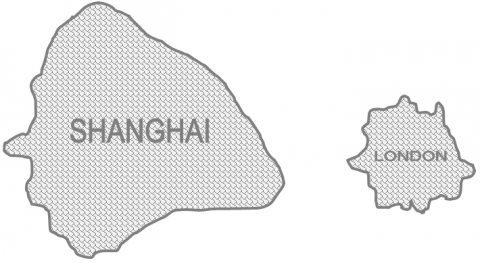 Shanghai and London - World's Apart