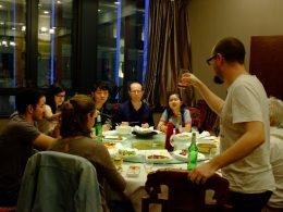 Beijing duck dinner