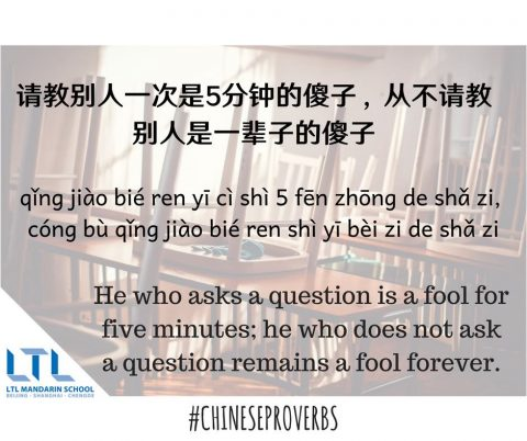 What Are The Top 8 Chinese Proverbs? LTL Shanghai Reveal All