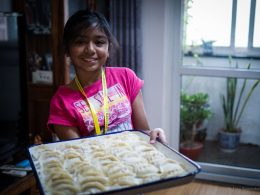 Making Dumplings at LTL Homestays