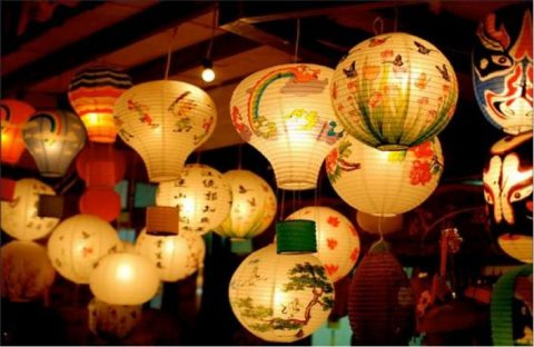 Lanterns from the Mid-Autumn Festival