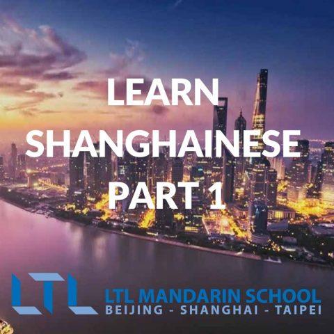 Learn Shanghainese Part 1