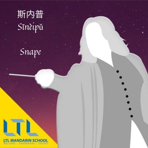 Snape in Chinese