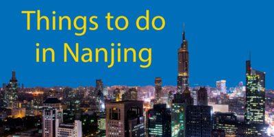 Things To Do In Nanjing // Weekend Away From Shanghai