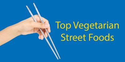 Living as a Veggie in China // Top 6 Vegetarian Street Foods