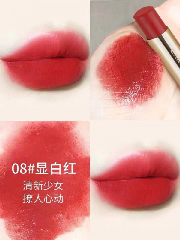 Chinese Makeup - This lipstick is worn smudged around the edges for a softer look Image courtesy of Taobao