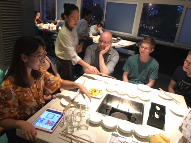 LTL Students enjoying Hotpot