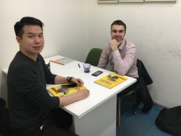 Teacher Tony at LTL Shanghai