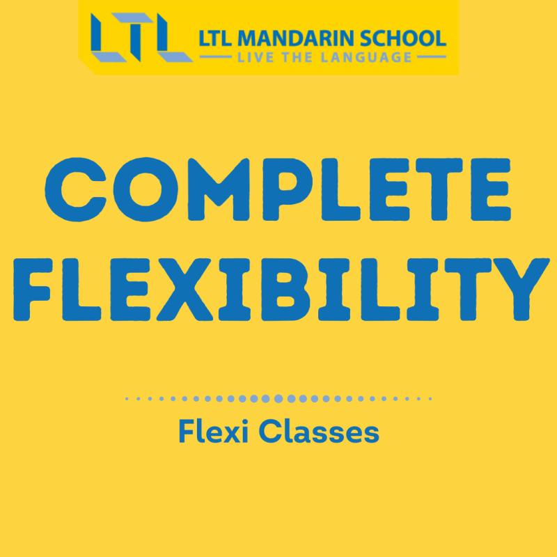LTL Flexi Classes - Online Mandarin Classes