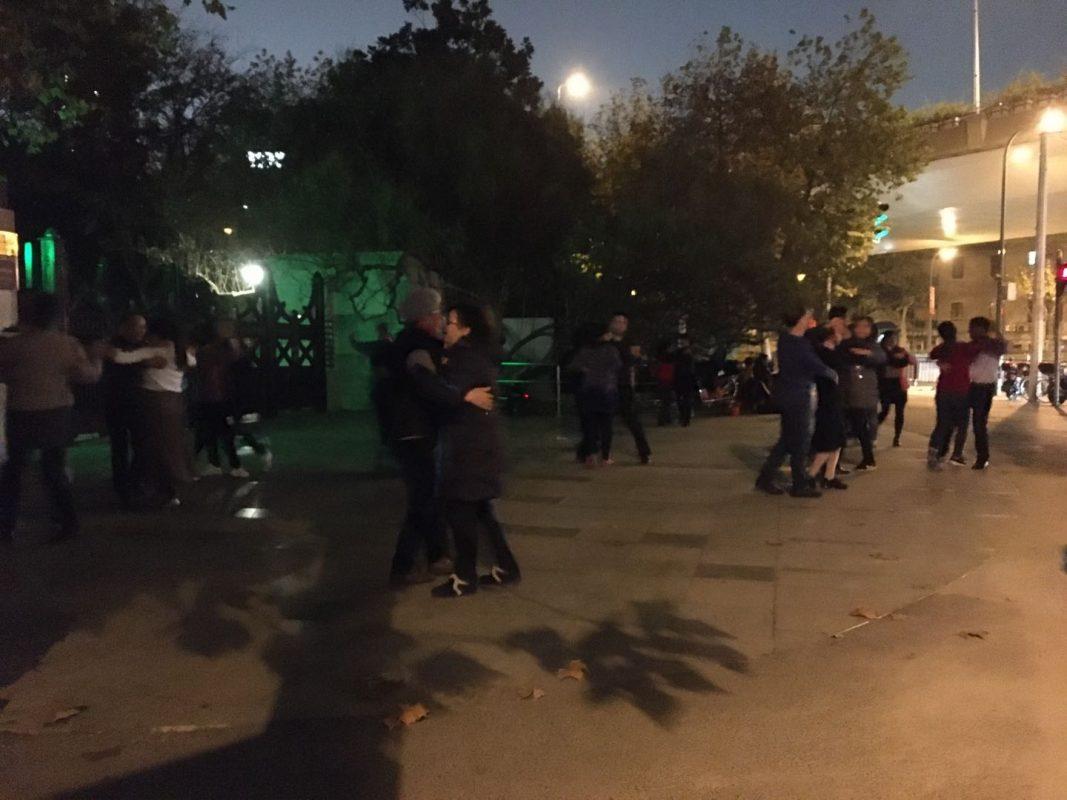 Fuxing Park - Square Dancing