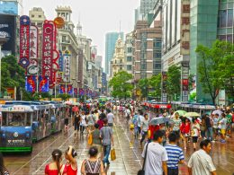 Nanjing Road is Shanghai's main shopping area