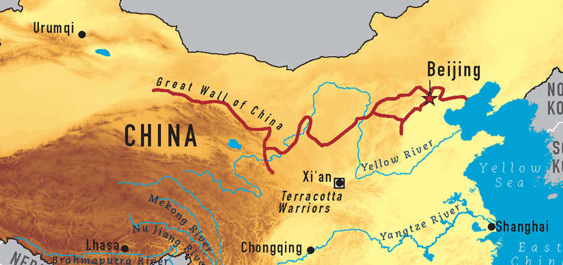 Shanghai Facts - The Great Wall. How does that relate to Shanghai?