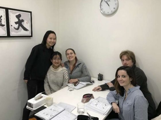 Small Group Class learning Mandarin