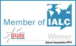 "Study Travel Association ""Winner 2014"" in the category ""Language SchoolAssociation"" with IALC"