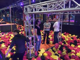 Jump 360 - trampolines and bubble football!