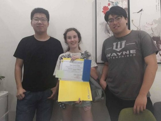 Shanghai certification diploma student and teachers