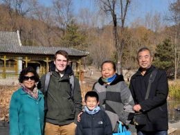 Trip to Chengde together with the Chinese homestay
