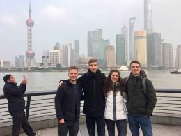 Exploring the famous Bund