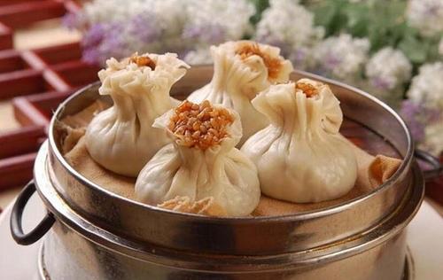 Shanghainese Shao Mai is shaped like a vase - Shanghai breakfast