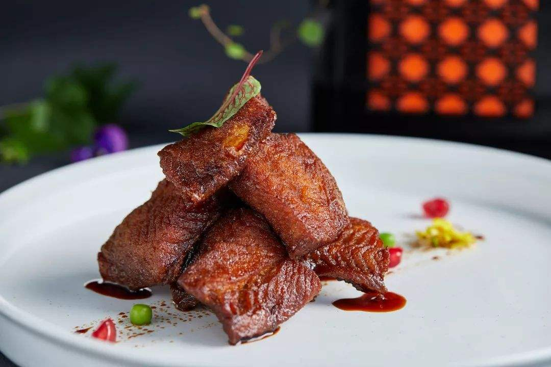 Shanghai smoked fish (上海熏鱼). Contrary to its name, the dish is less so smoked and more so fried.