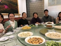 LTL Shanghai Teachers enjoying delicious Dinner
