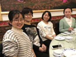 Shanghai staff and teachers enjoy Dinner