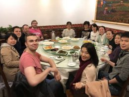 Time for some lovely shared food in Shanghai
