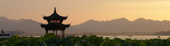 Hangzhou West Lake and pagoda