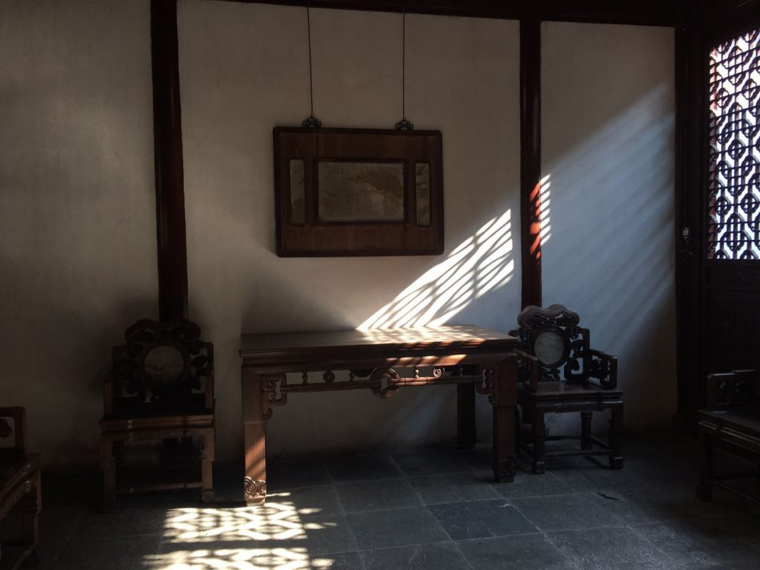Yuyuan - Inside one of the historical buildings