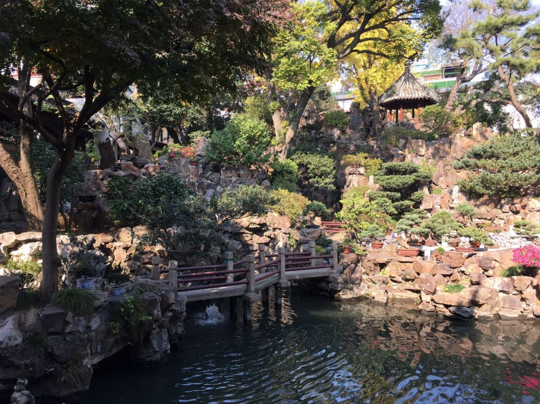 Yu Garden - The garden is peaceful and serene