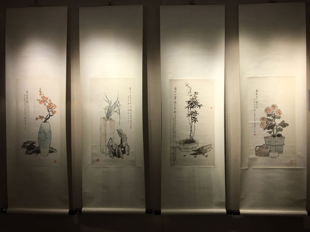 Yu Garden - These are just a few of many paintings in the gallery