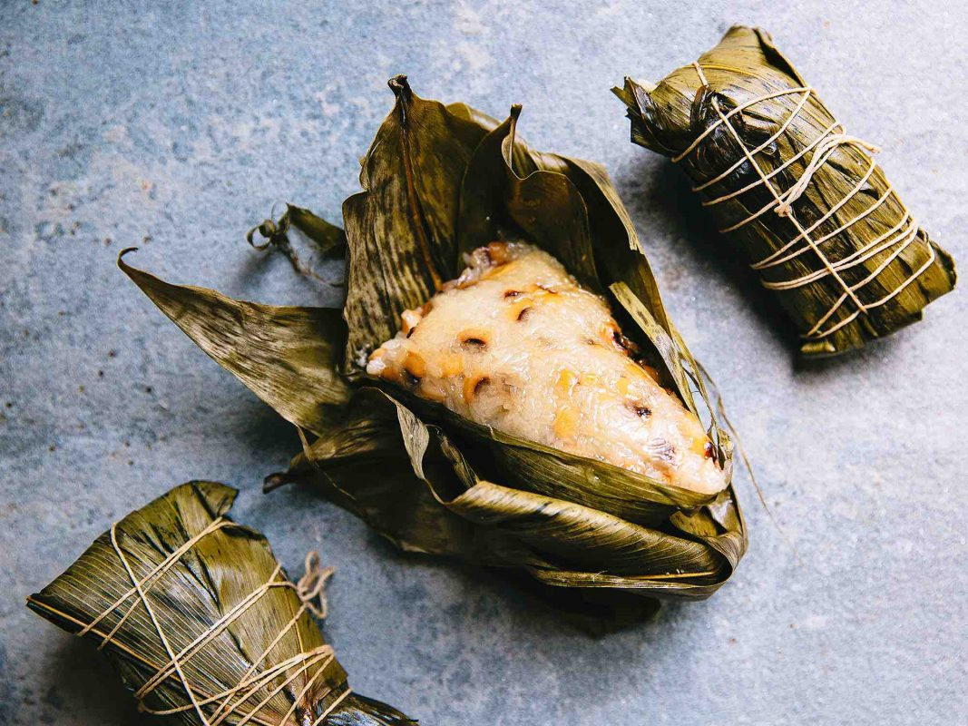 Zongzi - A great option for vegetarian street food