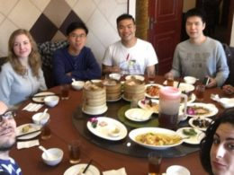 Welcome lunch for new students at LTL Mandarin School