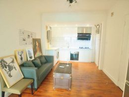 Serviced Apartment Kitchen & Living Room
