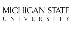MSU, Michigan State University logo
